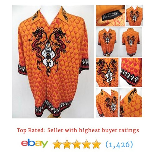 Dragonfly Shirt Large Chinese Dragon Scales Oriental Asian Serpent #ebay @kwcouture  #etsy #PromoteEbay #PictureVideo @SharePicVideo