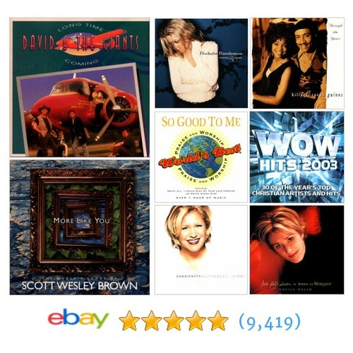Contemporary Christian Music Items in 777music store #ebay @jesusfreaknrock  #ebay #PromoteEbay #PictureVideo @SharePicVideo