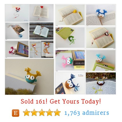 Bookmarks Etsy shop #bookmark #etsy @etilina2  #etsy #PromoteEtsy #PictureVideo @SharePicVideo