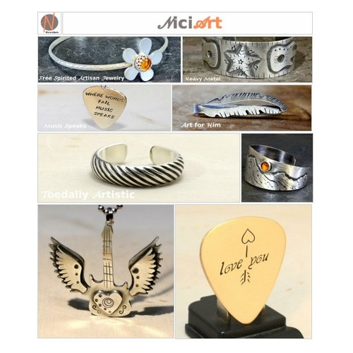 NiciArt Handmade Jewelry, Guitar Picks, and Accessories @nicilaskin #socialselling #PromoteStore #PictureVideo @SharePicVideo