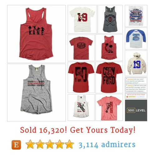 500 LEVEL Licensed, Fan Designed Sports Apparel by @500level  #etsy shop https://SharePicVideo.com?ref=PostVideoToTwitter-500level #etsy #PromoteEtsy #PictureVideo @SharePicVideo