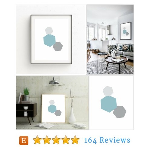 Minimalist Geometric Wall Art, Minimalist #etsy #PromoteEtsy #PictureVideo @SharePicVideo