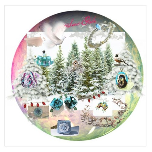 Snow Globe in Winter Wonderland #integrityTT #TintegrityT #EtsySpecialT  #polyvorecontest #Polyvorestyle #EtsyRT  #socialselling #PromoteStore #PictureVideo @SharePicVideo