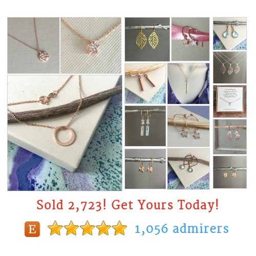 Rose gold jewelry Etsy shop #etsy @wshray  #etsy #PromoteEtsy #PictureVideo @SharePicVideo