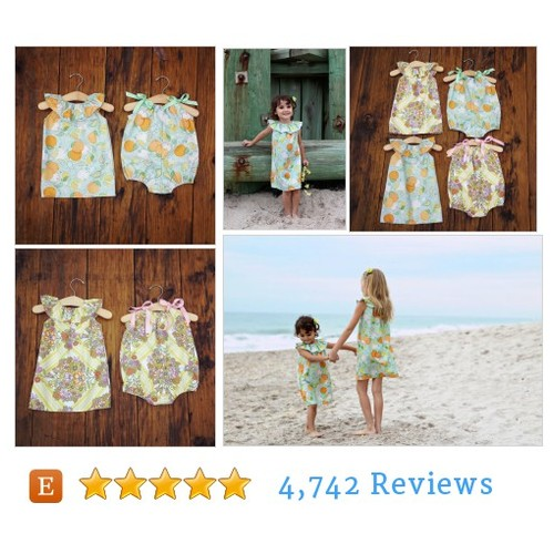Girls Bubble Romper, Fruit, Oranges, Ruffle #etsy @shelbyjaneandco  #etsy #PromoteEtsy #PictureVideo @SharePicVideo