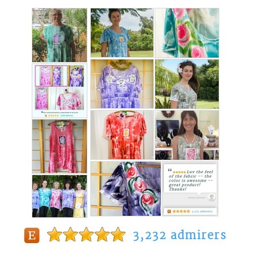 Ready for Spring? Hawaii Hand Painted Clothes #shopsmall #etsyfashion #integritytt @DNR_CREW @HyperRTs @EtsyRT #etsy #PromoteEtsy #PictureVideo @SharePicVideo
