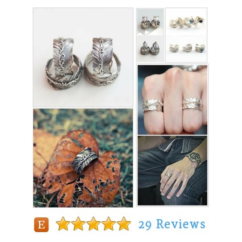 Sterling Silver Feather Ring | Arabesque #etsy @jewelryfang  #etsy #PromoteEtsy #PictureVideo @SharePicVideo