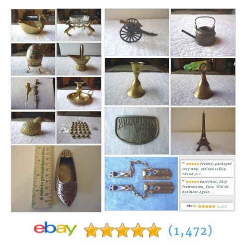 Brass Collectibles in Foster Web Store #Brass #Collectibles #Vintage #ebay #PromoteEbay #PictureVideo @SharePicVideo