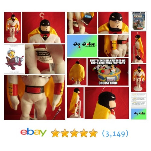 WARNER BROS STUDIO STORE-SPACE GHOST BEAN PLUSH-FULL SPACE ATTIRE-NEW/TAGS-RARE | eBay #WARNERBROSSTUDIOSTORE #etsy #PromoteEbay #PictureVideo @SharePicVideo