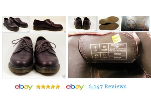 Dr. Martens Men's Brown Leather #Oxford Shoes - EUC Style1561 #Casual #DrMarten #etsy #PromoteEbay #PictureVideo @SharePicVideo