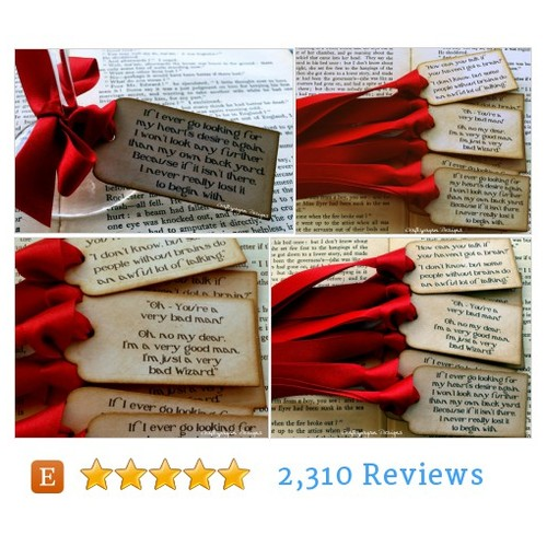 The Wizard of Oz Quote Tags by @craftypagan  Designs #Gift #Wedding #etsy  #etsy #PromoteEtsy #PictureVideo @SharePicVideo