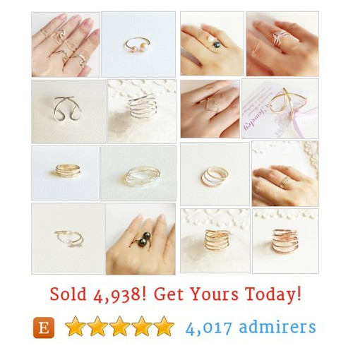 RINGS Etsy shop #etsy @maimodajewelry  #etsy #PromoteEtsy #PictureVideo @SharePicVideo