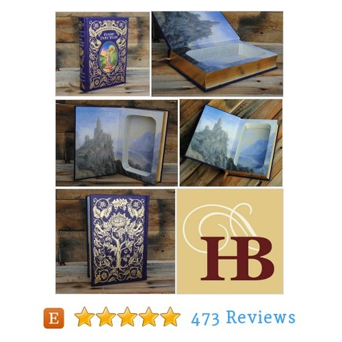 Book Safe - Classic Fairy Tales - Leather #etsy @refinedpallet  #etsy #PromoteEtsy #PictureVideo @SharePicVideo