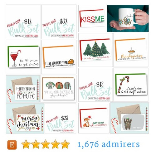 HOLIDAY SHOP #etsy shop #holidayshop @simplysaidpaper  #etsy #PromoteEtsy #PictureVideo @SharePicVideo