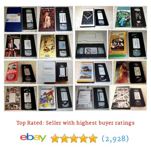 Collectible VHS Video Great deals from Corner Concepts Vintage and New #ebay @cornerconcepts1 https://www.SharePicVideo.com/?ref=PostPicVideoToTwitter-cornerconcepts1 #ebay #PromoteEbay #PictureVideo @SharePicVideo