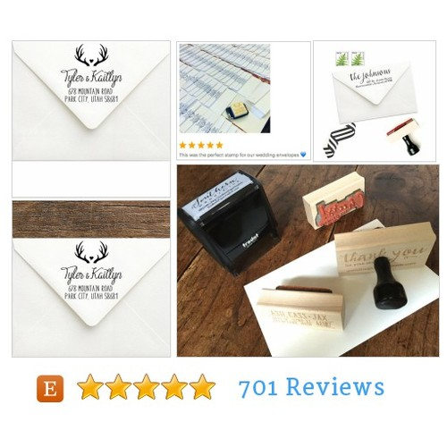 Antler Address Stamp - Hunt is Over #etsy @southernstamps  #etsy #PromoteEtsy #PictureVideo @SharePicVideo