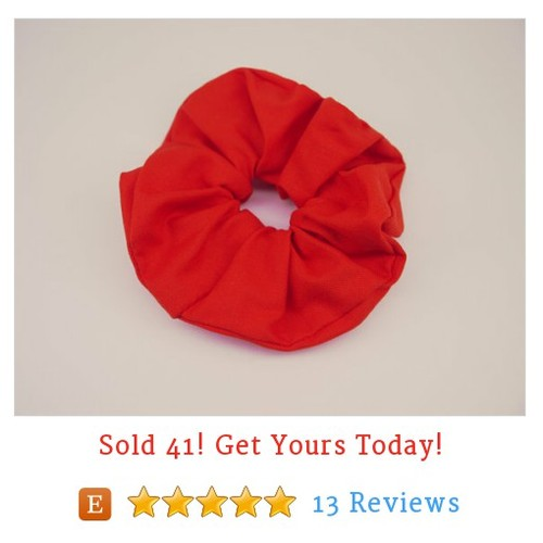 Big Red Scrunchie, Hair Scrunchie, Flame Red Scrunchie #etsy #PromoteEtsy #PictureVideo @SharePicVideo