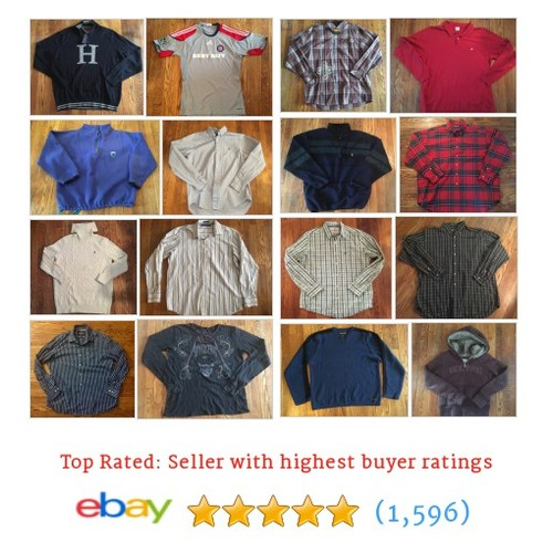 Men's Clothing Items in Used Reality store #ebay @retrochewy  #ebay #PromoteEbay #PictureVideo @SharePicVideo