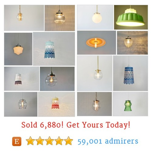 Pendant Lights Etsy shop #etsy @bootsngus  #etsy #PromoteEtsy #PictureVideo @SharePicVideo