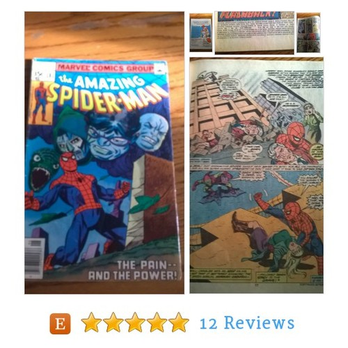 "THE AMAZING SPIDERMAN #181, ""The Pain and #etsy @lightsoutbooks https://www.SharePicVideo.com/?ref=PostPicVideoToTwitter-lightsoutbooks #etsy #PromoteEtsy #PictureVideo @SharePicVideo"
