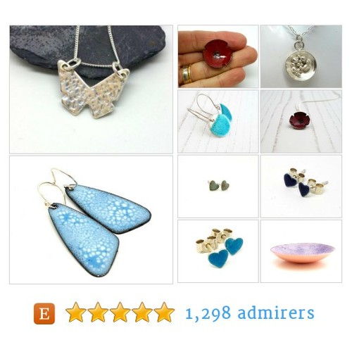 Unique Handmade Enamel Jewellery & Gifts by MaisyPlum Etsy shop  #etsy #PromoteEtsy #PictureVideo @SharePicVideo