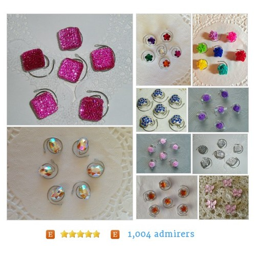 #All from JEWELRY FOR YOUR HAIR by HairSwirls1 Etsy shop #etsy #PromoteEtsy #PictureVideo @SharePicVideo