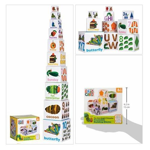 World of Eric Carle, The Very Hungry# Caterpillar #Stacking#Nesting# Blocks#Toys# Baby #socialselling #PromoteStore #PictureVideo @SharePicVideo