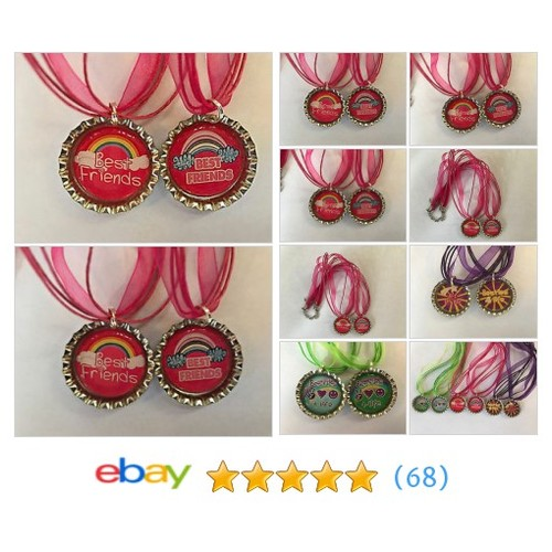 ��BFF Necklaces Besties Best Friends Forever Necklaces Girls Tweens #ebay @asullyamy  #etsy #PromoteEbay #PictureVideo @SharePicVideo