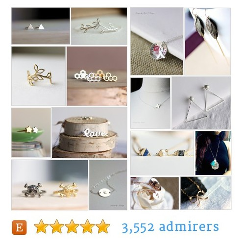 Handmade Personalized Jewelry by MakiYDesign #etsy @maki_jewelry  #etsy #PromoteEtsy #PictureVideo @SharePicVideo