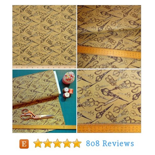 Sew Vintage Scissors Snips Sewing Cotton #etsy @itslovelyjubbly  #etsy #PromoteEtsy #PictureVideo @SharePicVideo
