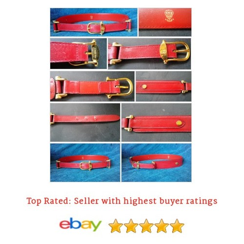 Gucci Women's #Belt Size XS 70 Red extra small Golden Tone Accents 28 inch waist | eBay #Gucci #WomensAccessory #etsy #PromoteEbay #PictureVideo @SharePicVideo
