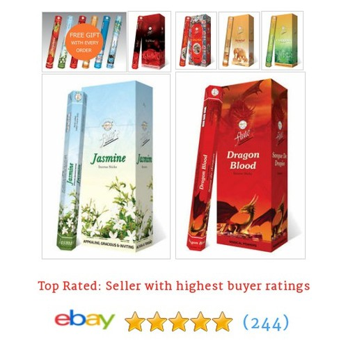 Incense Sticks Flute Choose 6 Scents Hexa Box 120 Agarbatti Fragrance #ebay @bubburinc  #etsy #PromoteEbay #PictureVideo @SharePicVideo