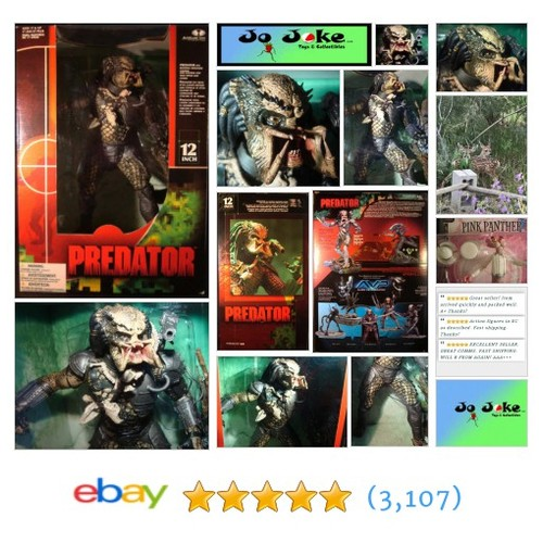 "PREDATOR-12 ""-ROTATING SHOULDER CANNON-WRIST CONSOLE PAD OPENS-SLICK STAND-2004! 