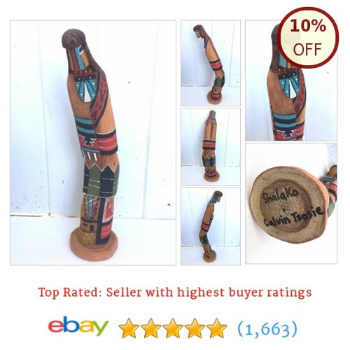 "Kachina #Doll Navajo Native American Art by Calvin Tsosie ""Shalako""  @loriannebowers1 #ebay https://SharePicVideo.com?ref=PostVideoToTwitter-loriannebowers1 #etsy #PromoteEbay #PictureVideo @SharePicVideo"