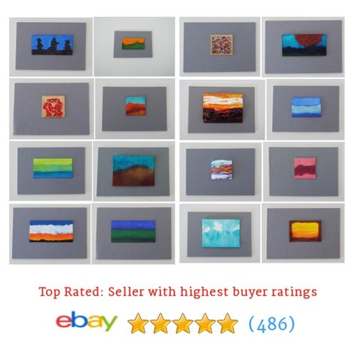 MINIATURE PAINTINGS Great deals from Julia's Art Path Paintings #ebay @juliasartpath  #ebay #PromoteEbay #PictureVideo @SharePicVideo