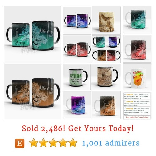 Mugs - Buy 3 Get 1 Free by @VikitoGifts  #etsy shop  #etsy #PromoteEtsy #PictureVideo @SharePicVideo