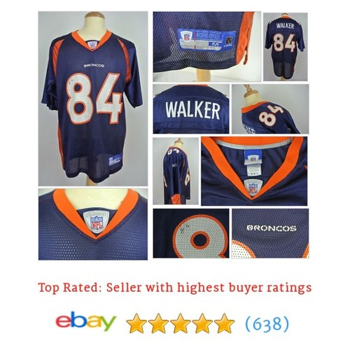 Medium Jevon Walker Number 84 Denver Broncos Vintage Jersey Athletics #ebay @summer_skill https://www.SharePicVideo.com/?ref=PostPicVideoToTwitter-summer_skill #etsy #PromoteEbay #PictureVideo @SharePicVideo