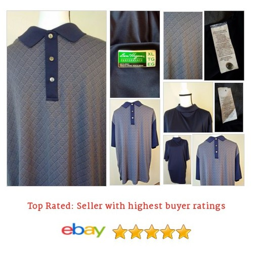Ben Hogan Performance #Golf Shirt Size XL BLUE Diamond Print | eBay #Top #Polo #etsy #PromoteEbay #PictureVideo @SharePicVideo