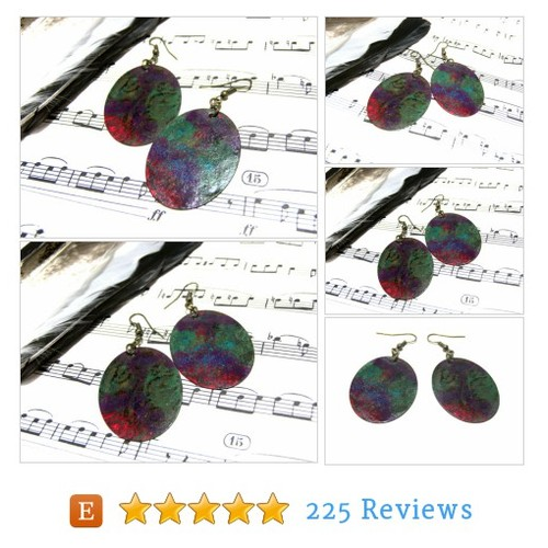 Hand Painted Oval Earrings Top Selling #etsy @lunaessence https://www.SharePicVideo.com/?ref=PostPicVideoToTwitter-lunaessence #etsy #PromoteEtsy #PictureVideo @SharePicVideo