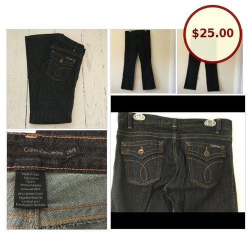 NWOT Calvin Klein Dark Wash Jeans @emilygomesemily https://www.SharePicVideo.com/?ref=PostPicVideoToTwitter-emilygomesemily #socialselling #PromoteStore #PictureVideo @SharePicVideo