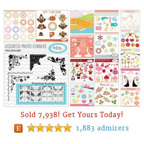 CLIPART SETS Etsy shop #etsy @lilmade_designs  #etsy #PromoteEtsy #PictureVideo @SharePicVideo