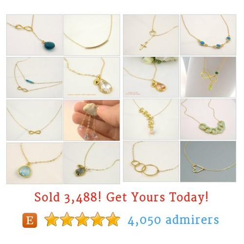 GOLD Necklaces Etsy shop #goldnecklace #etsy @crystalshadowv  #etsy #PromoteEtsy #PictureVideo @SharePicVideo