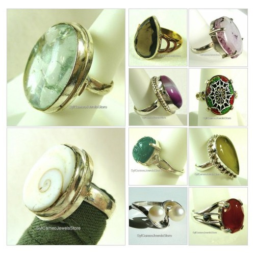 #EtsyJewelry #SilverRings #Gemstones #Boho #HandCrafted #SylCameoJewelsStore #Etsyshop #Rings #Jewelry #etsyspecialt #integritytt #SpecialTGIF @Cods_Rts @DNRCREWx @PolarReaper @etsyRT  #etsy #PromoteEtsy #PictureVideo @SharePicVideo