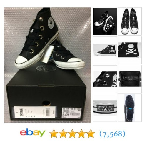 NEW CONVERSE x mastermind JAPAN ALL STAR 100 Hi US 8 J 26.5 #ebay @japan_game  #etsy #PromoteEbay #PictureVideo @SharePicVideo