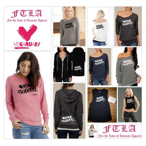 #TryVeganThisJanuary #Veganuary #FTLAAPPAREL #GOVEGAN gear by @ftlaapparel - Shop Online www.ftlaapparel.com  #socialselling #PromoteStore #PictureVideo @SharePicVideo