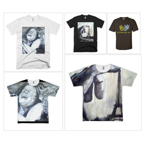 Short Sleeve T-Shirts #shopify @2friendart  #shopify #PromoteStore #PictureVideo @SharePicVideo