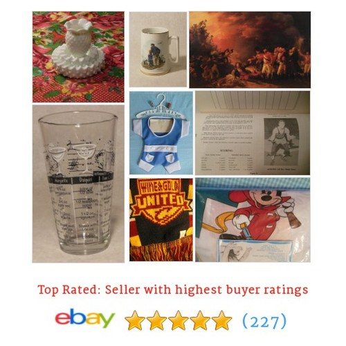Collectibles Items in patchwork.rose store #ebay @beverly_shelby  #ebay #PromoteEbay #PictureVideo @SharePicVideo