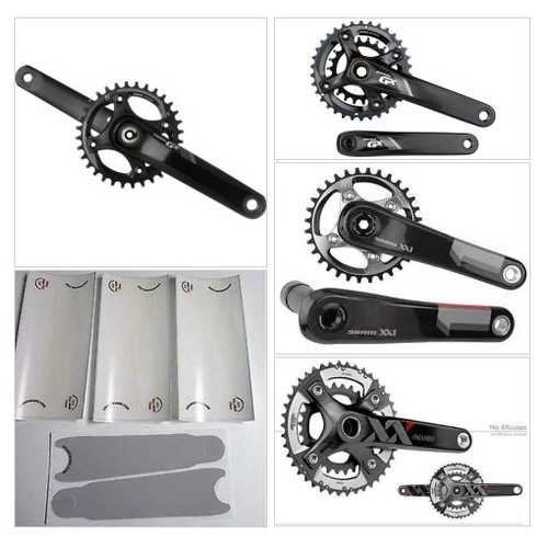 Clear @crankskins  for SRAM GX  #shopify #PromoteStore #PictureVideo @SharePicVideo