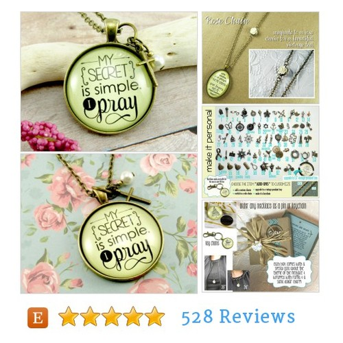 My Secret is Simple I Pray Christian Saying #etsy @lisajcopen  #etsy #PromoteEtsy #PictureVideo @SharePicVideo