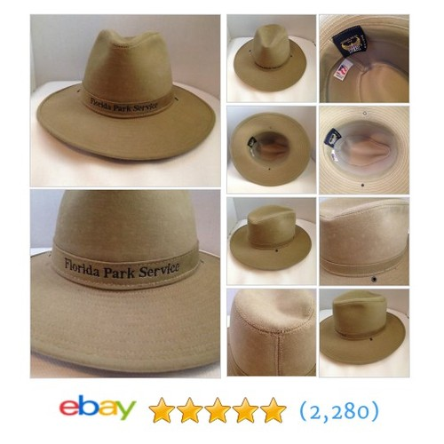 VTG Florida Park Service Ranger Hat Medium Henschel Hat Co Medium USA #ebay @nikkisuniques  #etsy #PromoteEbay #PictureVideo @SharePicVideo